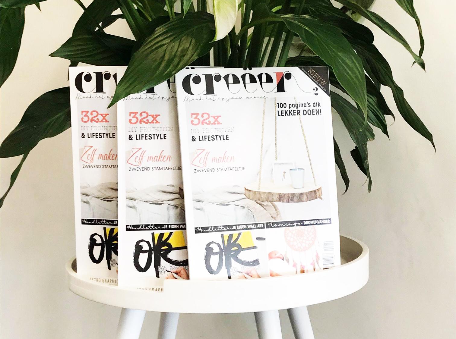 creeer magazine imakin winactie