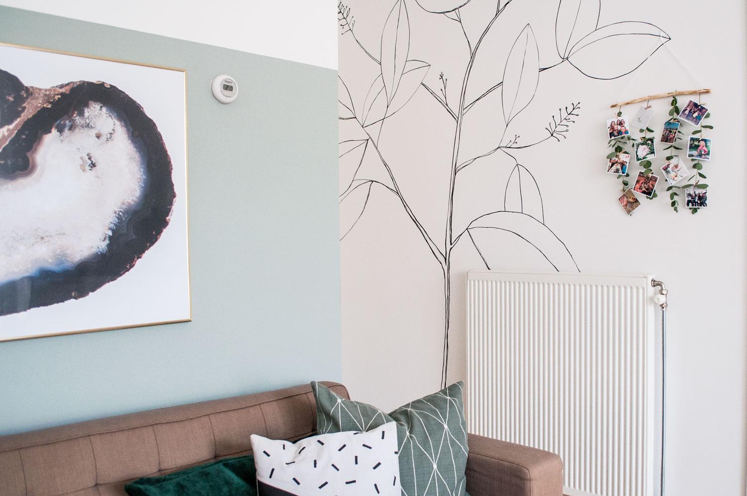 foto muurhanger eucalyptus sfeer2