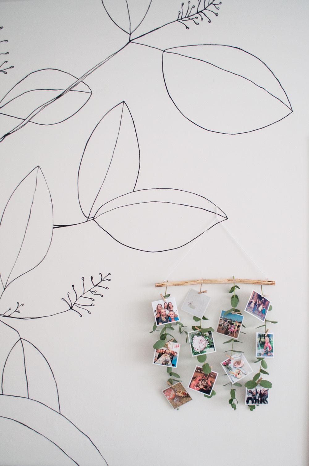 foto muurhanger eucalyptus sfeermuur2