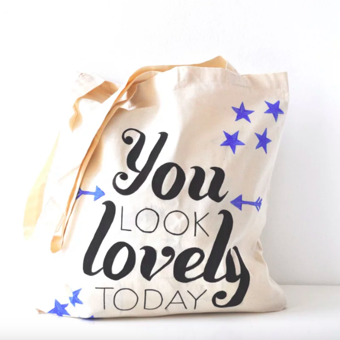 diy canvas tas you look lovely today imakin