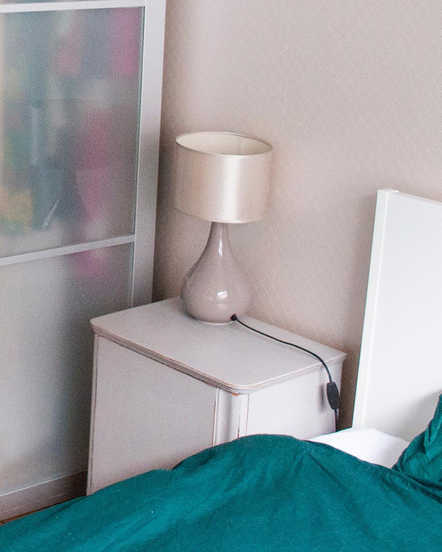 slaapkamer opfrisser nachtkastje voor