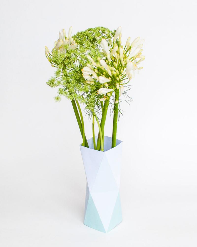 vouwvaas met bloemen