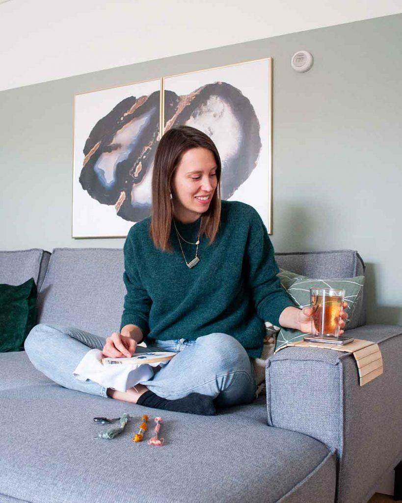 DIY armleuning dienblad   IMAKIN