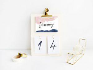 DIY pakket klembordkalender5
