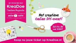 KreaDoe Online Event header