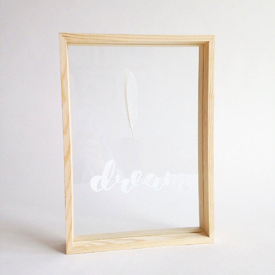 dubbelglas lijst veer dream 1