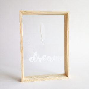 dubbelglas lijst veer dream