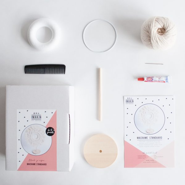 DIY-pakket Macramé Standaard   IMAKIN