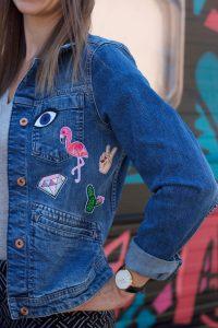jeansjack applicaties sfeer
