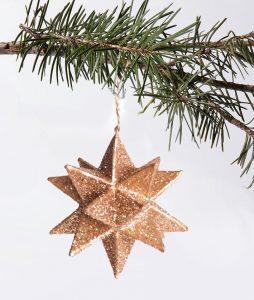 kersthanger glitter sfeer