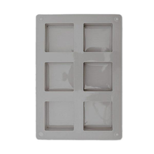 siliconen zeepgietvorm vierkant