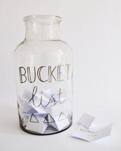 DIY Tutorial Bucket List Jar