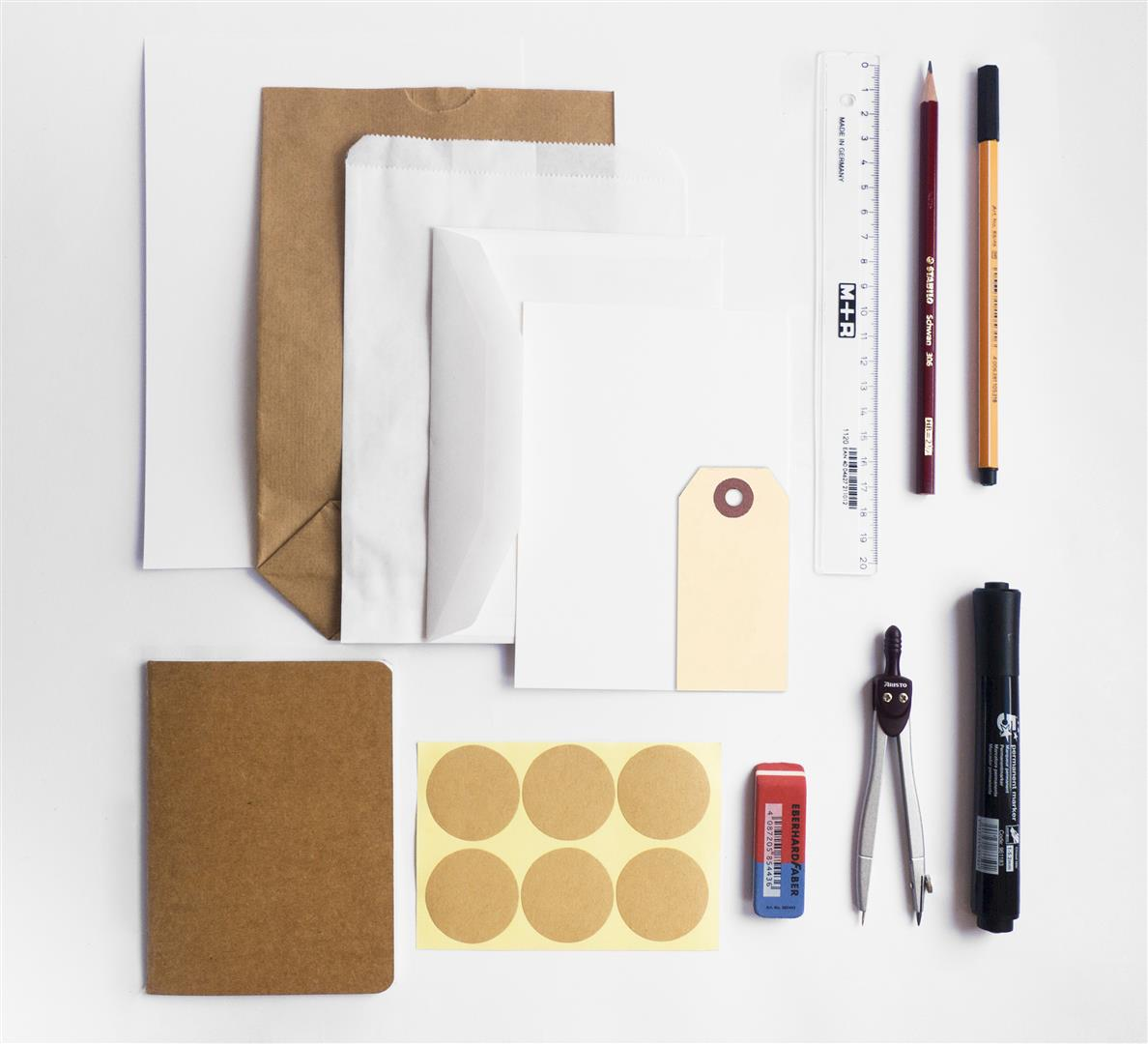 DIY pakket artikelen blanco Large