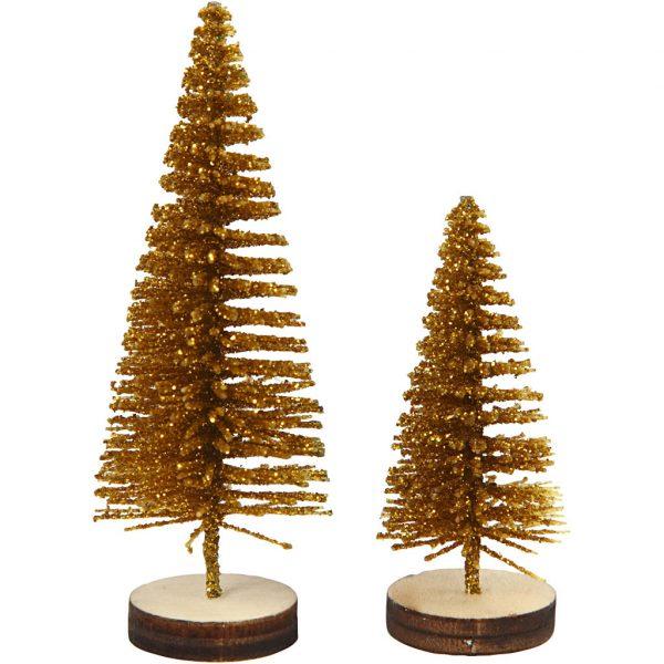 kerstbomen goud2
