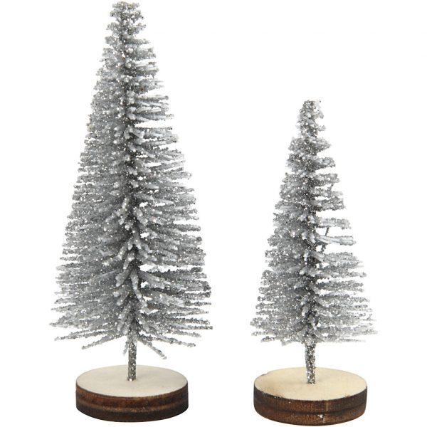 kerstbomen zilver2