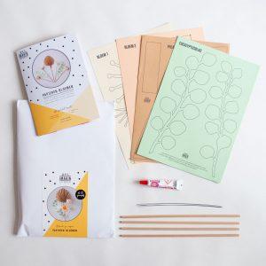DIY-pakket Papieren Bloemen - IMAKIN