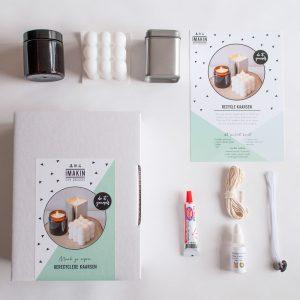 DIY-pakket Recyclekaarsen - IMAKIN