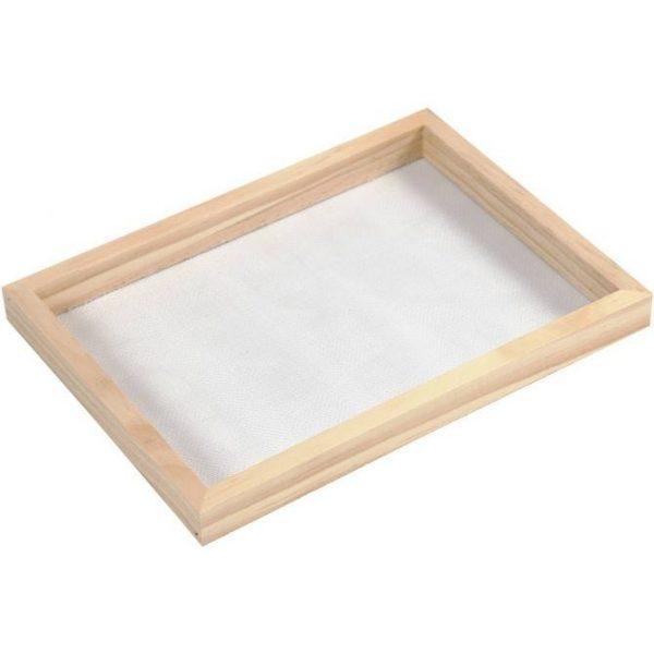 frame papier scheppen