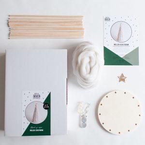 DIY-pakket Wollen Kerstboom - IMAKIN